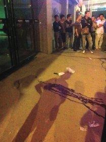 湖南衡阳闹市发生枪击案 一男子中枪当场死亡