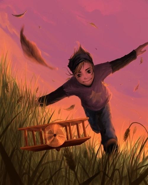 法国超现实插画:奇妙的童话世界(组图)