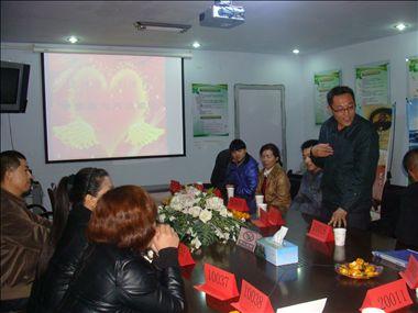 潍坊市奎文区东关街道李家街社区开展相亲派对活动