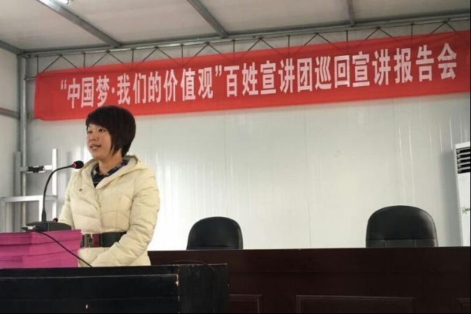 """""""中国梦·我们的价值观""""巡回宣讲志愿者事迹广受好评"""
