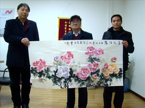 国际休闲产业协会主席王军等考察北京星光影视园
