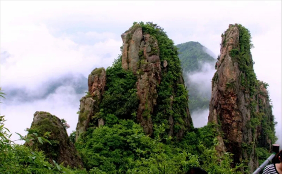 """""""天地间秀绝之区""""美丽的仙华山"""