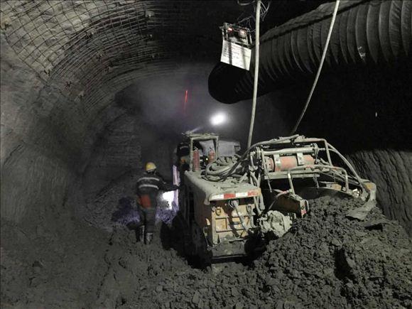 红柳林矿业公司掘进工作面的粉尘去哪了
