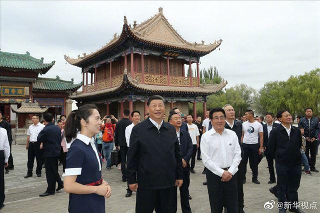 凯发注册中华凯发注册文摘:习近平-保护好中华民族的象征