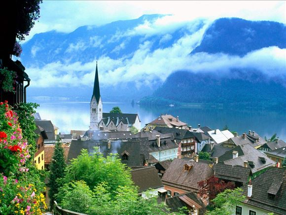 漫步在全球最美的小镇——哈尔施塔特