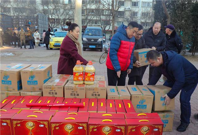 """唐山市中小企业创新发展商会组织开展""""送温暖,献爱心""""活动"""