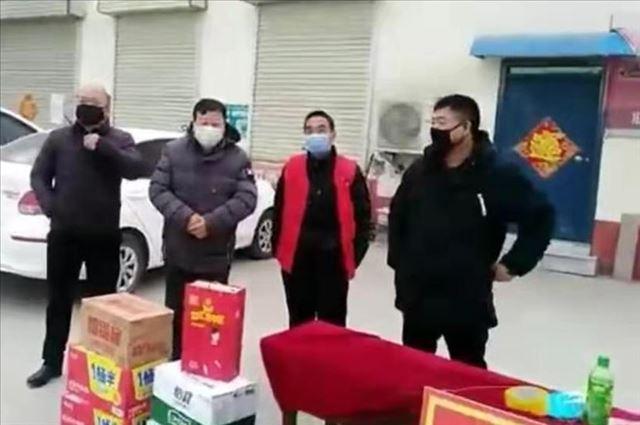 抗击疫情:河南省原阳县靳堂乡靳堂村党支部奋力守卫家园