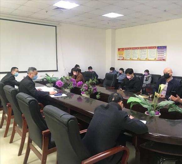 河南省新乡县:传达县委全会精神 部署脱贫攻坚工作