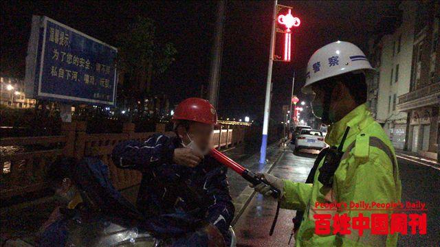 福建省政和县交警开展酒驾整治筑牢道路交通安全防线
