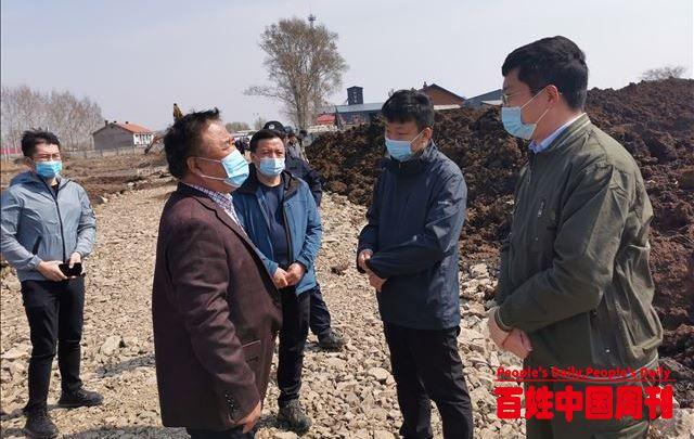 宝清县副县长韩恩波深入夹信子镇检查指导当前重点项目建设工作