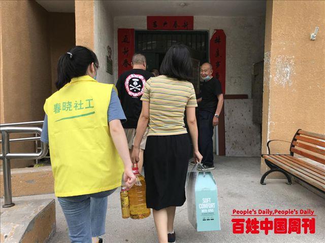 同庆建军节:北京市通州区定海园一里社区开展拥军优属活动