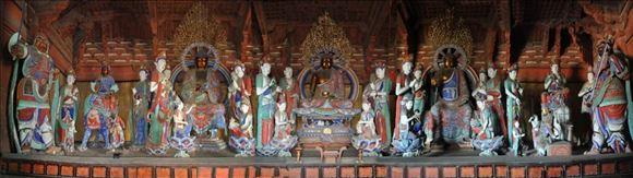 唐塑的绝响——佛光寺东大殿造像巡礼