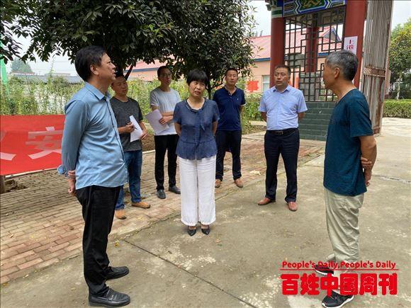 河南新野县上港乡:提升中心敬老院居住条件