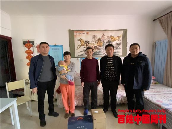 陕北矿业柠条塔公司:冬季慰问暖人心