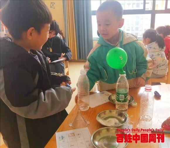 陕西汉阴县凤台幼儿园开展教师观摩课活动