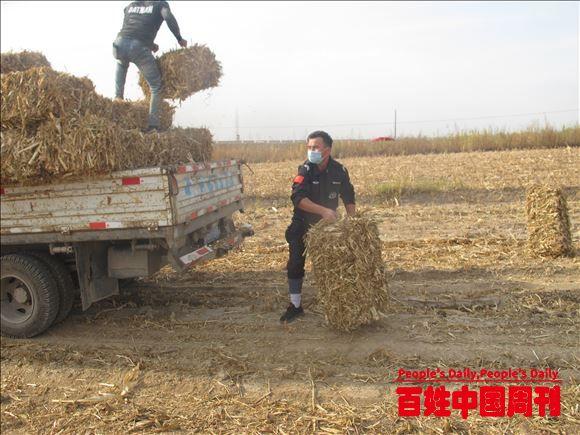 新疆伊宁:一个善意举动 温暖寒秋的人心