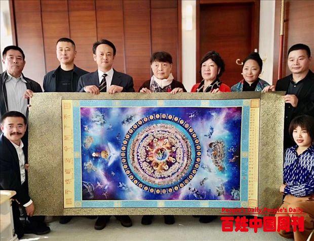 金珂书画院助力北京冬奥冰雪事业及文化产业