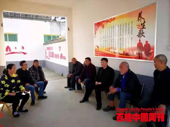 河南内乡桃溪镇:镇长沈礼华走访慰问幸福院和敬老院老人