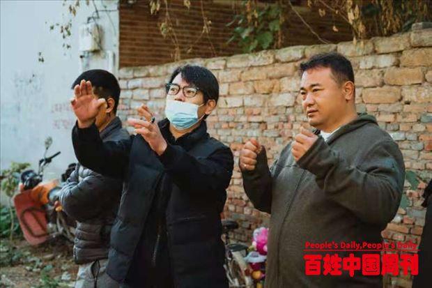 河北磁县农民杨太隆自导自拍电影巜疯狂的背包》