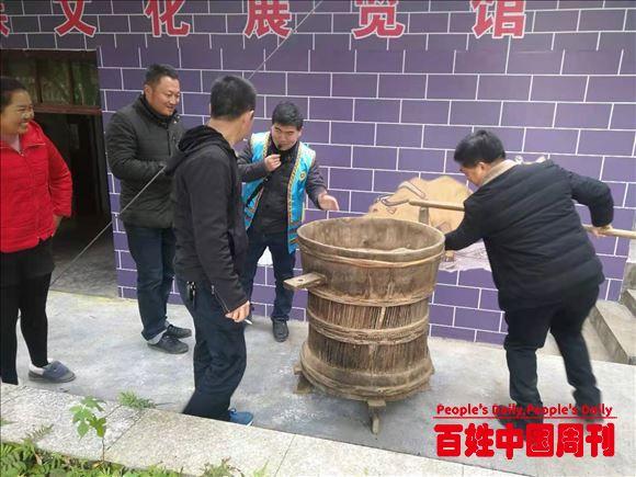 湖南芷江古冲村侗族文化馆开馆迎来益阳团队游客