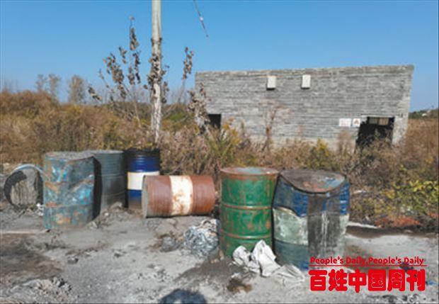 安徽省合肥市巢湖市庙岗乡杨碾洼村被占良田没有恢复原貌