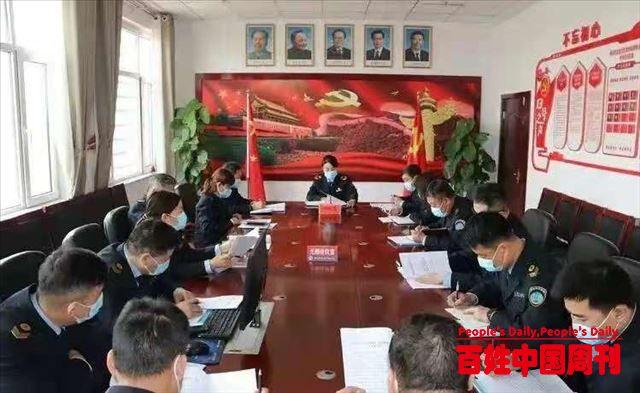 河北邯郸邯山区卫生计生监督执法所召开2021年工作安排部署会议